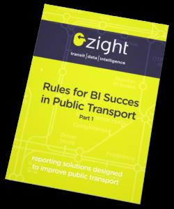ZIGHT | Rules for BI succes in Public Transport (White Paper)